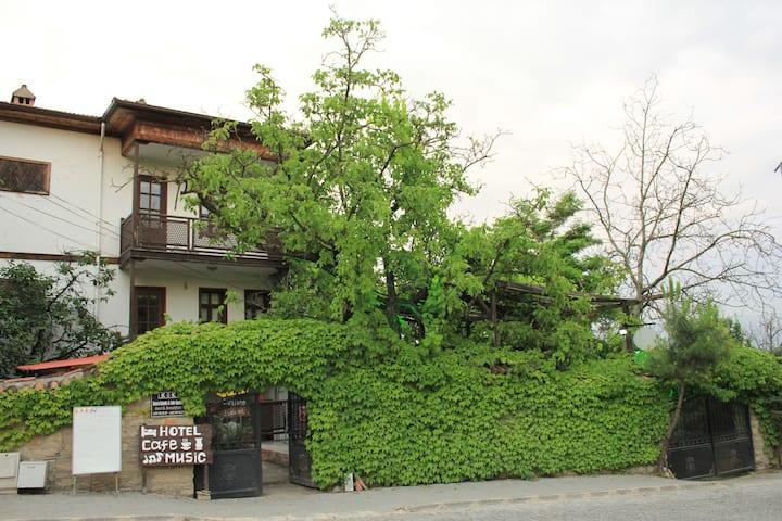 Kuscu Konak Historical Home Terrace Garden 3