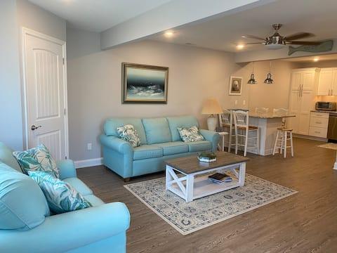 Newly renovated beach house