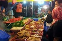 Pasar Tani and  Pasar Malam every Wednesday & Saturday respectively