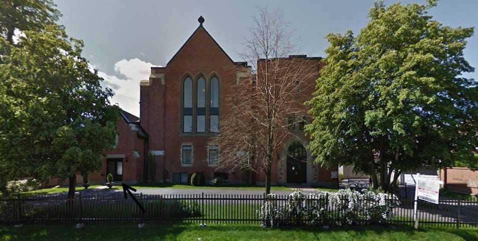Originally Anglican church (1937) - Montreal - Apartamento