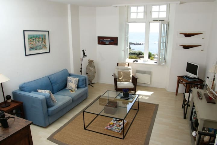 Amazing Ocean View Apartment - Clohars-Carnoët - Apartment