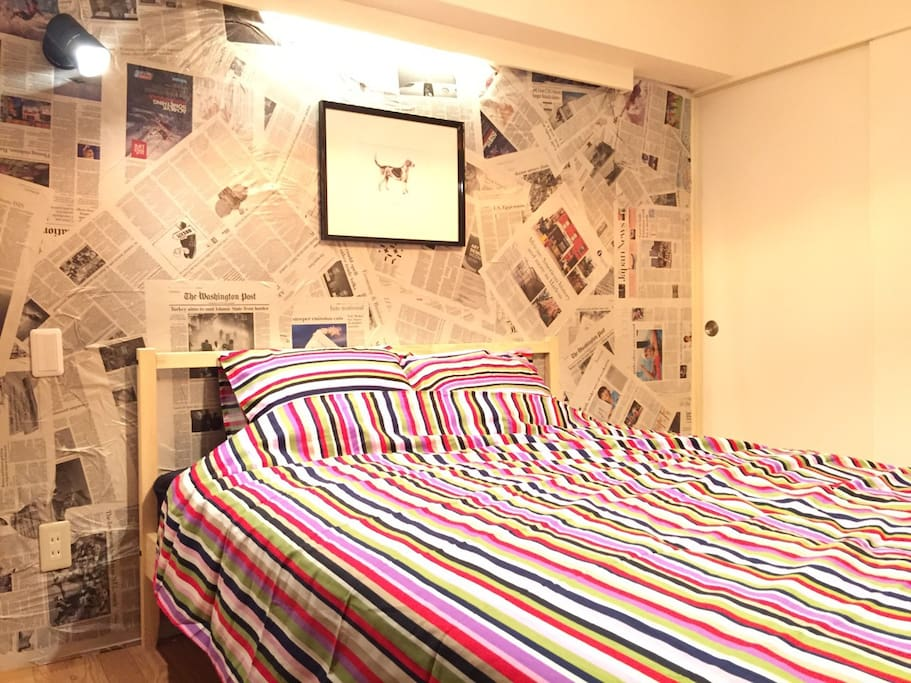 3BR + 1 living room with free portable MAX 7guests  in 3 min walk away from Higashi Shinjuku station on FUKUTOSHIN Line