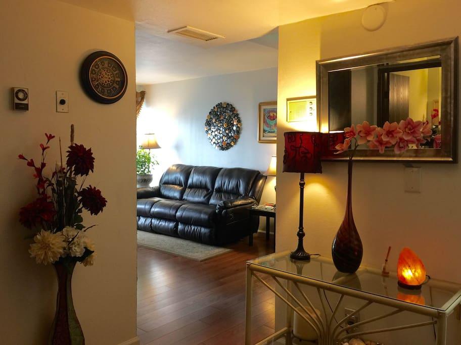 A warm little home