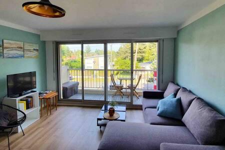 Appartement Zen à Stella plage dunes et forêt