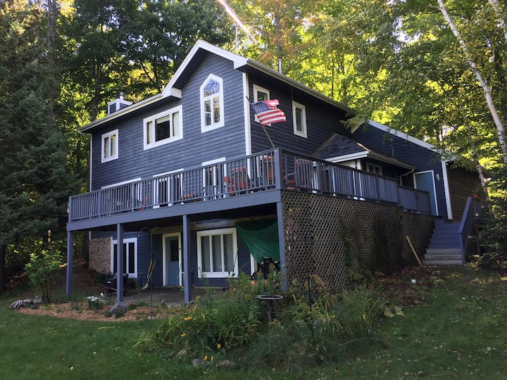 Petoskey Crooked Lake beautiful home  w boat slip