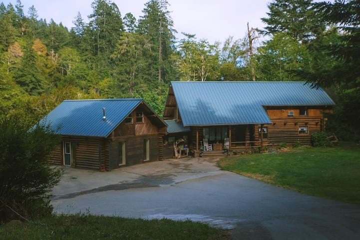 Evergreen Cabin in the mountains of Brookings.