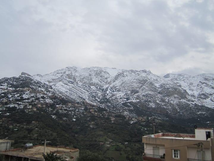 Maison en plein  Kabylie,colocation 6 voyageurs
