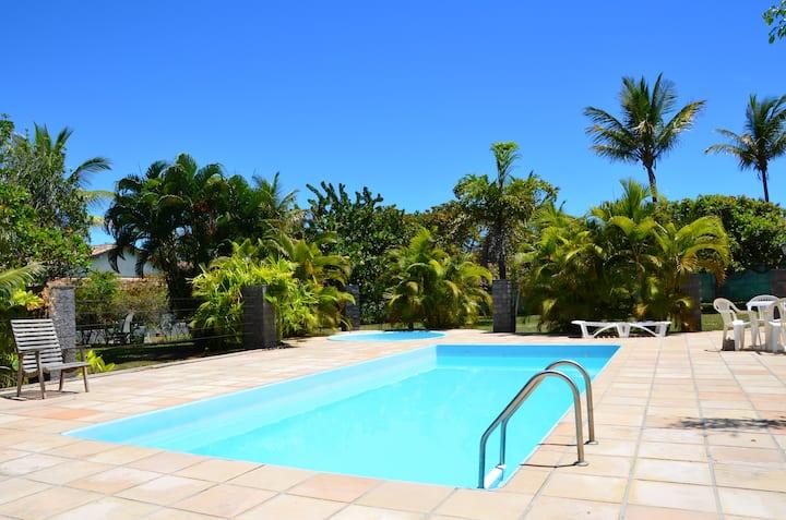 Casa frente ao mar c/ piscina, sobre falésia-Vega3