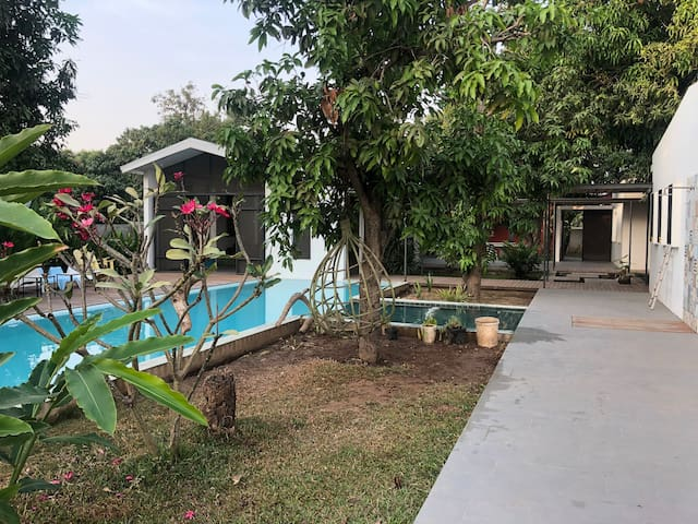 Villa on the Mekong river