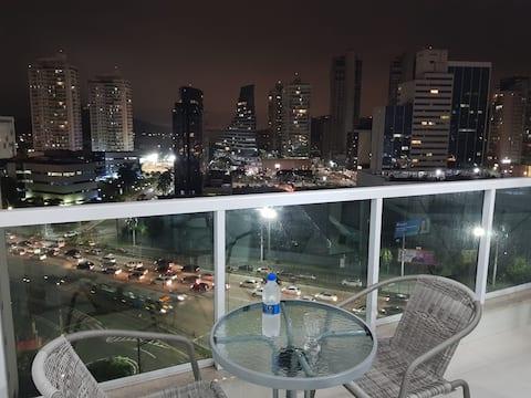 Excelente e moderno apartamento com linda vista