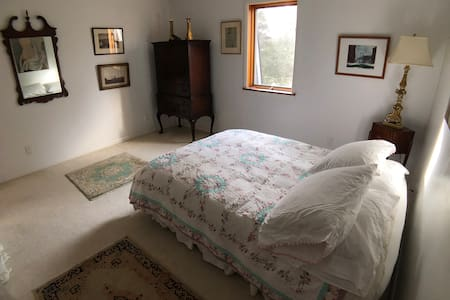The Chiesa's: Queen Sized Bedroom