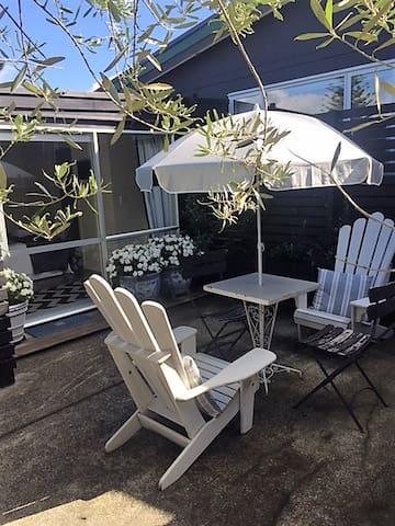 Oneroa Private Oasis - Auckland - Blockhütte