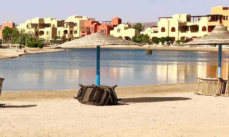 El Gouna Upper Nubia: 3 bedrooms  by the Red Sea.