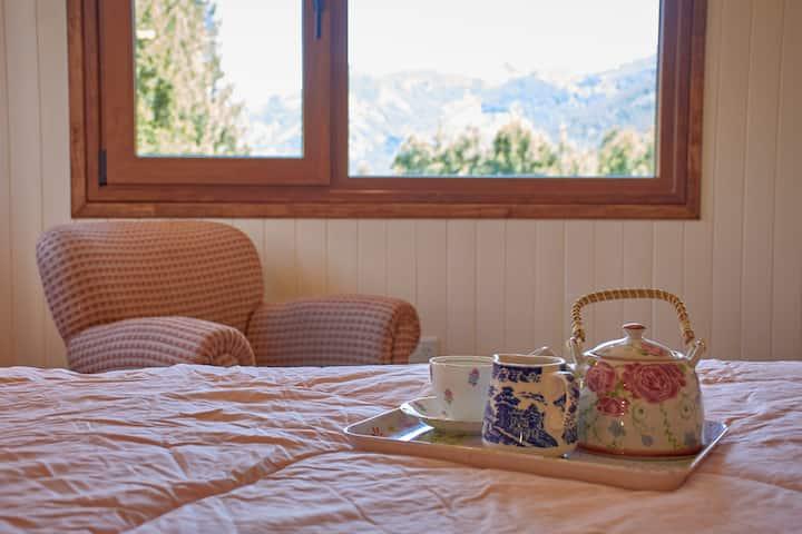 Hosteria y Casa de te Cinco Sentidos Meliquina