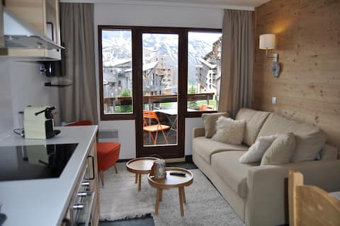 Avoriaz, Magnificent mountain F2, ranked 3 *!