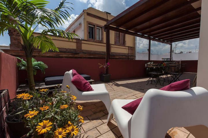 Fantastic 2 BR penthouse and large private terrace