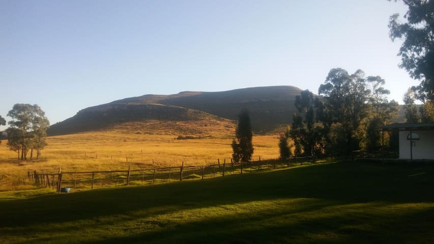 Bird Song Self Catering Cottages - Wakkerstroom - Stuga