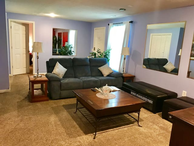 2BR private basement apartment, right off I85!