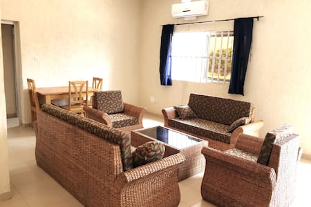 Secure appt with all comforts close to waterfalls
