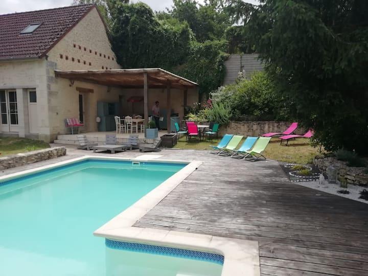 Logement entier  proche Beauval et Chenonceau