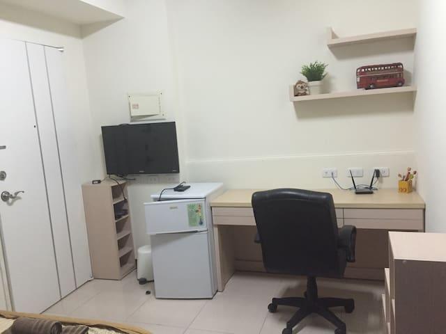 私人空間 獨立大套房 給您一個最乾淨溫暖的住所 如在家般舒適享受 - 台南市 - Maison