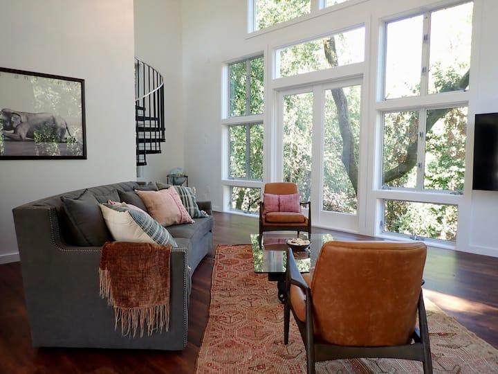 The Musician's Cottage, Gorgeous 2 Bd + loft