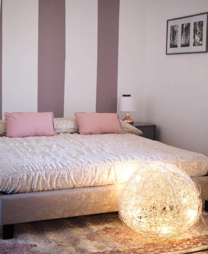 """Modern Holiday Apartment """"Le Muse Comano Terme Holiday"""" with Wi-Fi & Garden; Parking Available"""