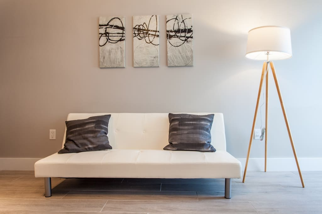 Minimalist style meant to relax you
