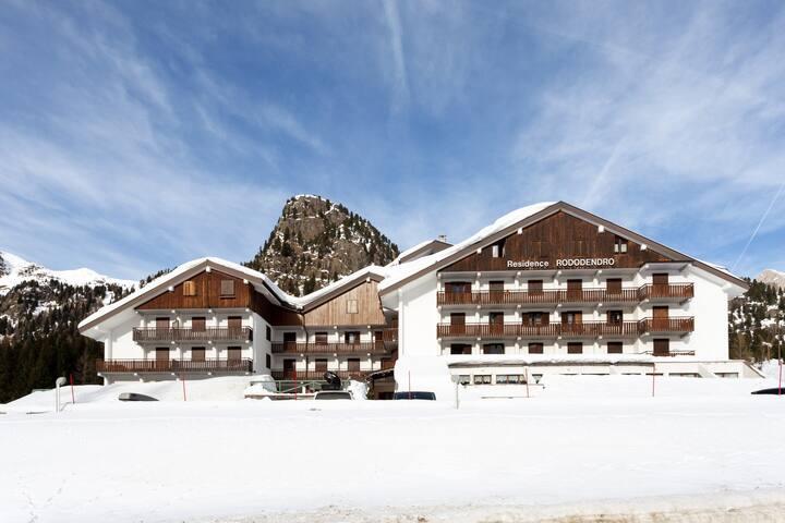 Appartamento nel cuore delle Dolomiti.