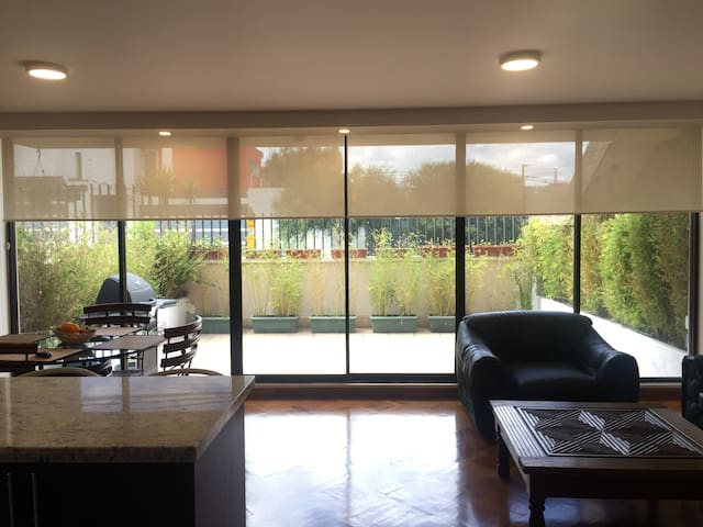 Suite With Terrace, BBQ, and Private Parking