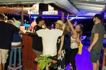Party At Hurricane Hole Bar