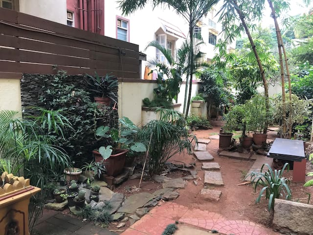 Malleswaram Apartment with garden
