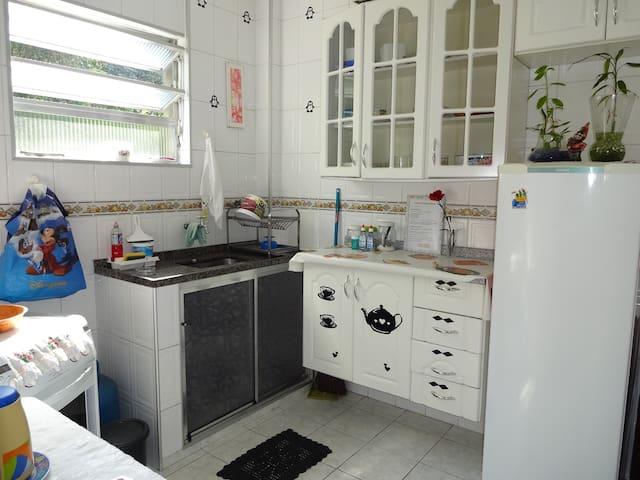 Apartamento Santos/São Vicente- 3 Minutos da Praia - Santos - Apartment