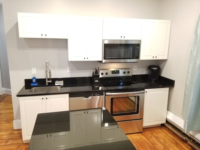 New 1st floor, 2 bed on Spring Street!