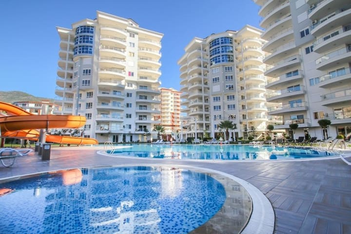 3 rooms apt with jacuzzi - Cikcilli Belediyesi - Apartment