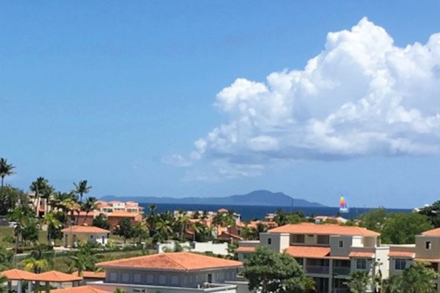Beautiful Caribbean View from the balcony...!