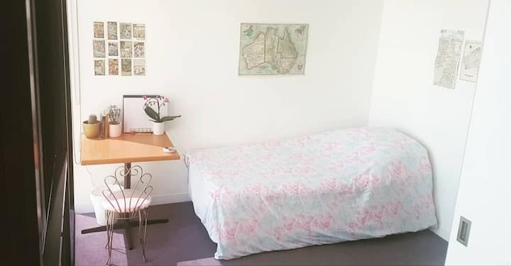 Melbourne Central apartment with Melbourne local