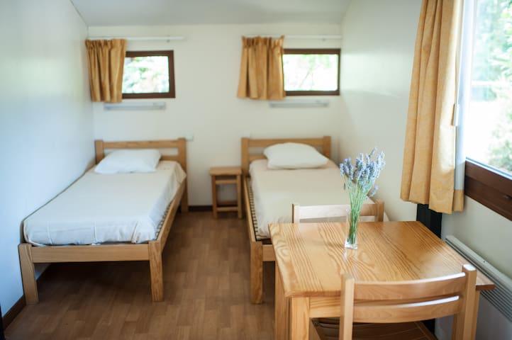 Chambres pour 2 sur Pilotis