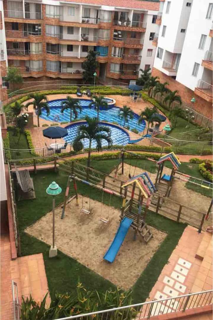 Apartamento con vista panorámica a San Gil