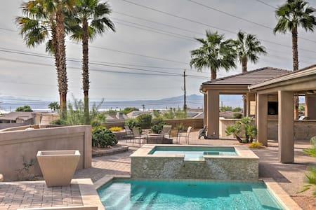 High-End Havasu House w/ Luxurious Outdoor Oasis!