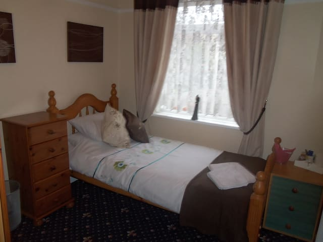 single room b and b - Blackpool - Casa