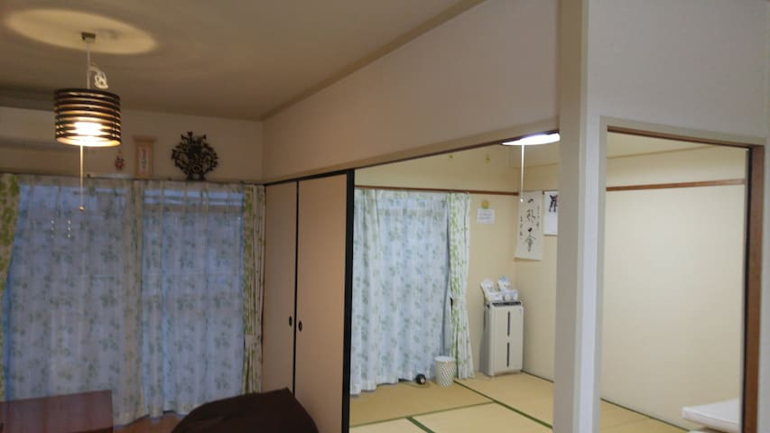 【Home stay】 Nagoya Kamiotai/English OK/Free Wi-Fi - Nishi Ward, Nagoya - Apartment