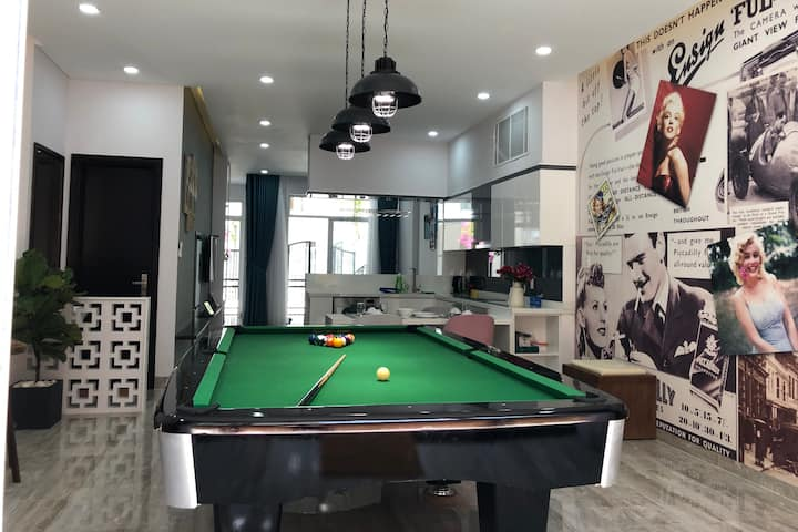 The No.1 Pool table villa for Your stay & relaxing