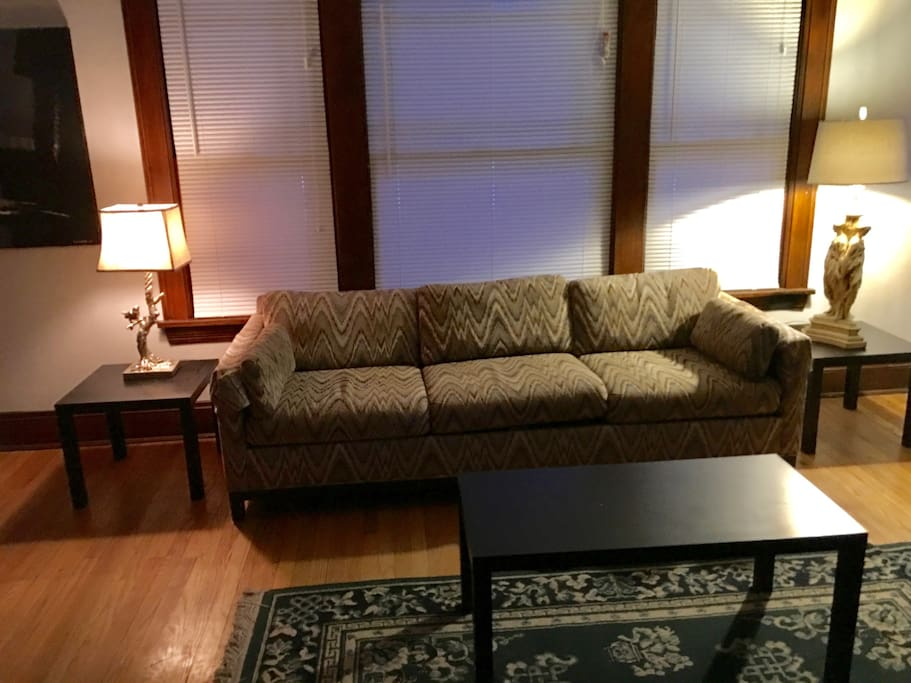 Living Room facing couch.