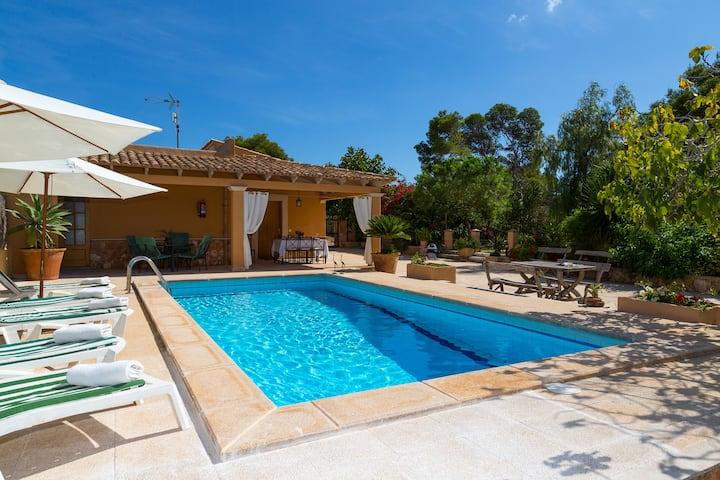 Finca CaNa Maria. Pool Country House 6pax Santanyi