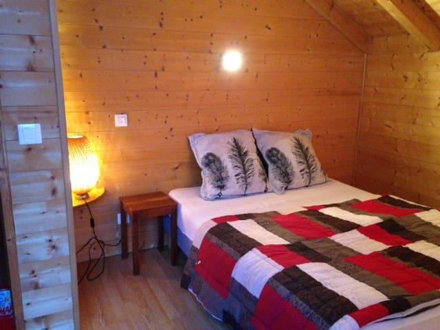 Chambre cosy dans un chalet savoyard