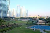 Serene JLT park only 5 minutes walk