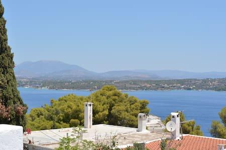 Spetses-Nice view-Ligoneri - Spetses - Earth House