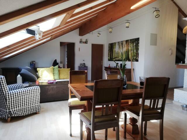 Charmante Wohnung in grüner und ruhiger Umgebung