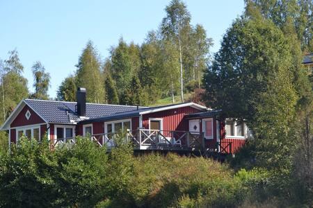 Zweedse villa direct aan meer - Bengtsfors